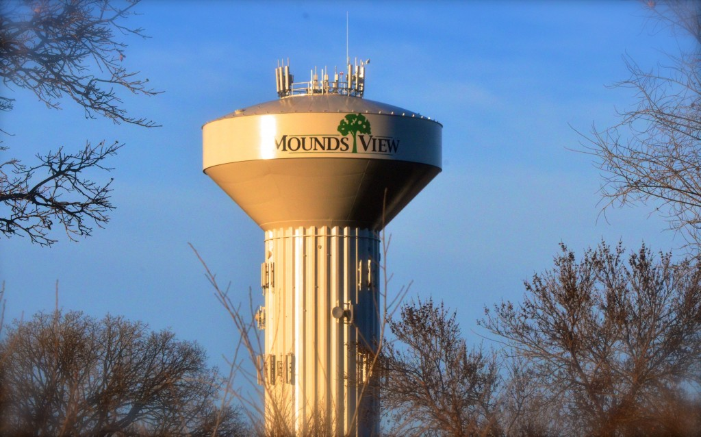 Mounds View Water Tower